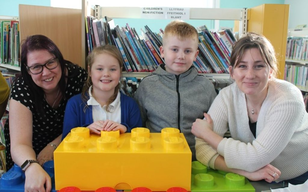 Tarmac helps 'build the foundations' for Rhoose LEGO Club