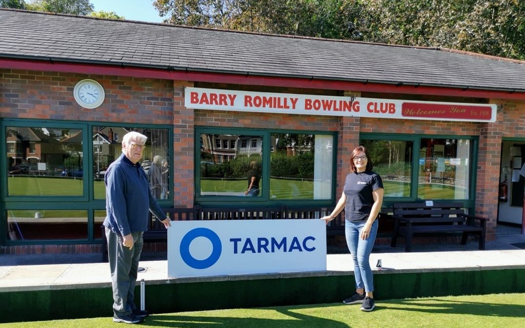 Club 'bowled over' by local support