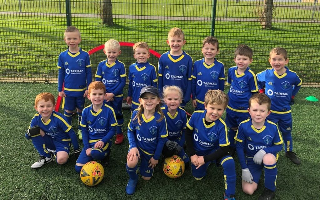 Kits for Kids – Island Marine FC U6 kitted out