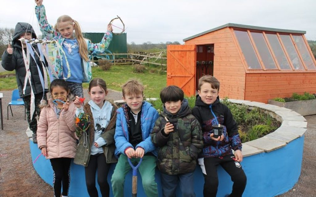Wellbeing takes centre stage at Llangan Primary