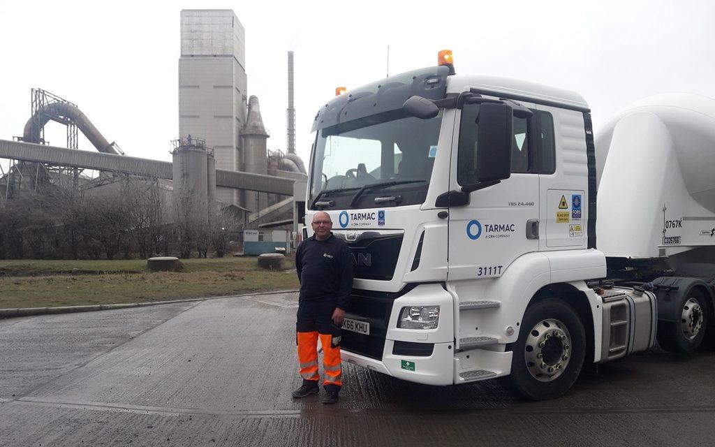 Tarmac's Dunbar drivers celebrate gold fleet award