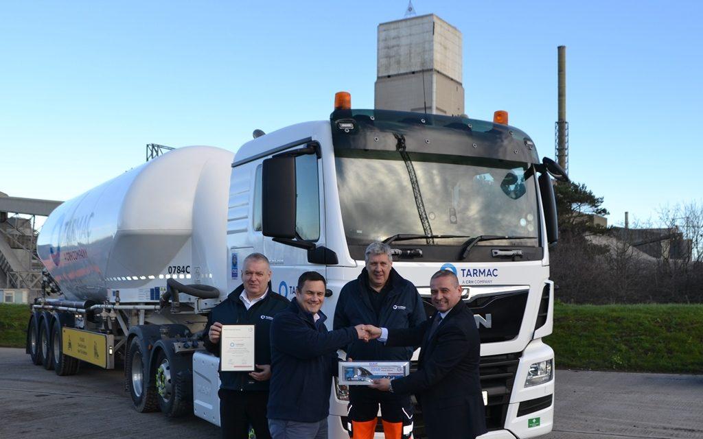 National award for Dunbar Cement Fleet