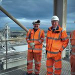 Getting to know major local employer 'high visibility' visit for new MP