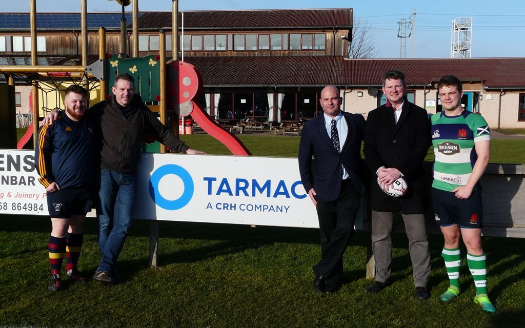 Tarmac sponsors Irish/Scottish rugby fixture for second year