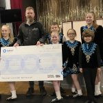 Fundraising boost for Innerwick Irish Dance group's Holland goal