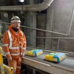 Tarmac's Dunbar cement plant plays role in UK first for sustainable plastic packaging