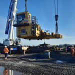 MAJOR OVERHAUL FOR GIANT QUARRY EXCAVATOR AT SCOTLAND'S ONLY CEMENT PLANT