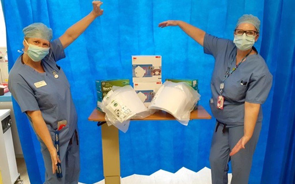 Mountsorrel Quarry donates PPE to local hospital