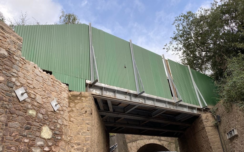 Bond Lane bridge repair update – September 2020