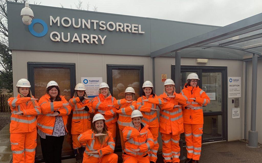 Mountsorrel Quarry celebrate International Women's Day