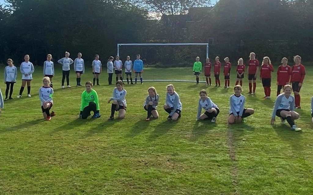 Tarmac supports Quorn juniours Football Club for the 6th year running