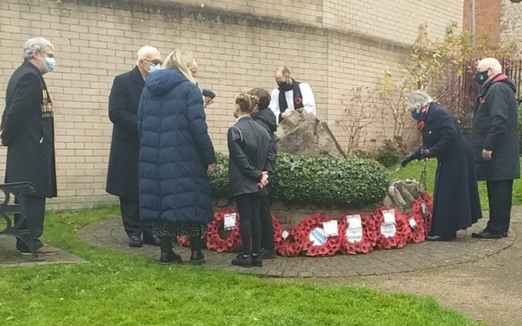 Quarry supports Mountsorrel Rememberence Day memorial