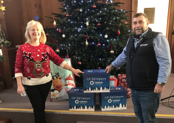 Mountsorrel employees give back to local charity