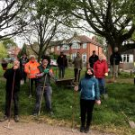 Tarmac support Barrow in Bloom footpath project