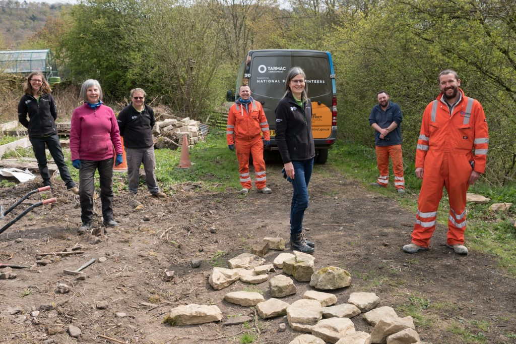Tarmac renews partnership to boost volunteering in the Peak District National Park