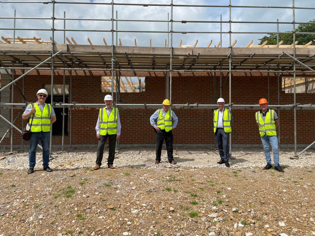 ASHBOURNE'S NEW 'PAVILION IN THE PARK' COMMUNITY HUB CONSTRUCTION WELL UNDERWAY