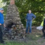 IMPORTANT HISTORIC LIME KILN GETS MUCH NEEDED FACELIFT