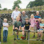 VILLAGE CHILDREN THANK LOCAL COMPANY  FOR PLAYGROUND BOOST