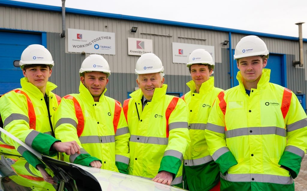 Tarmac launches talent search with apprenticeship recruitment drive