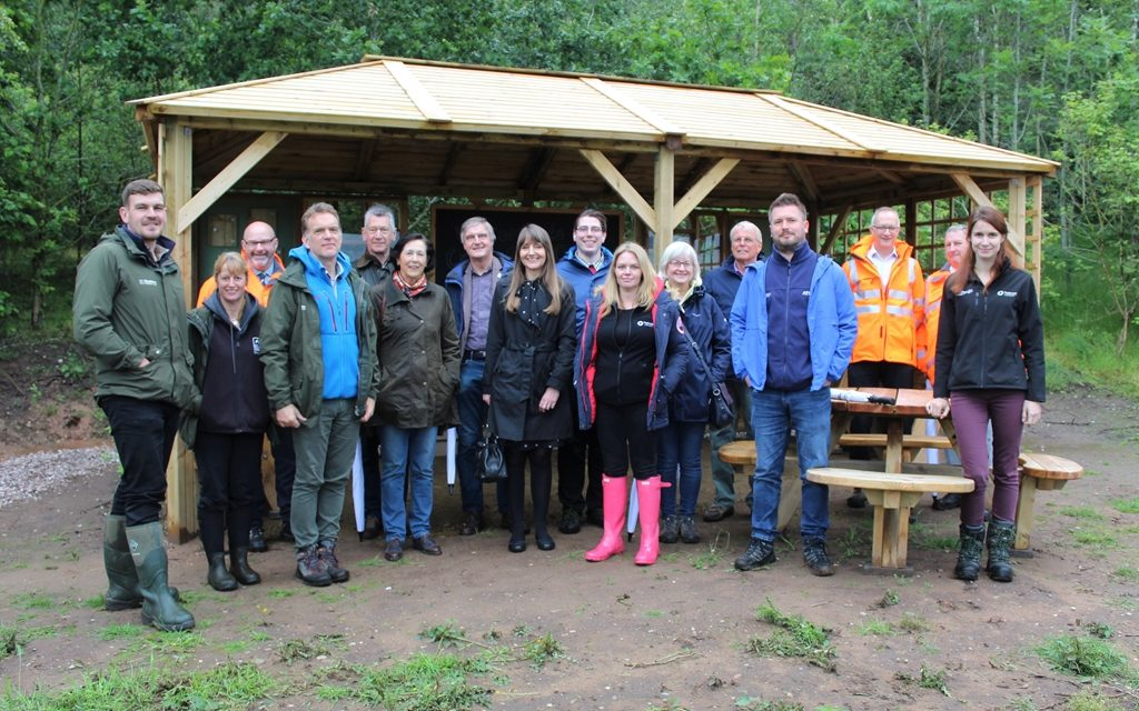 Tarmac and Cheshire Wildlife Trust open new Discovery Centre at Crown Farm Quarry