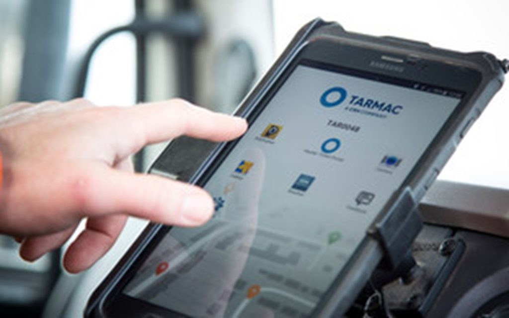 Tarmac deliveries go digital with innovative tracking system