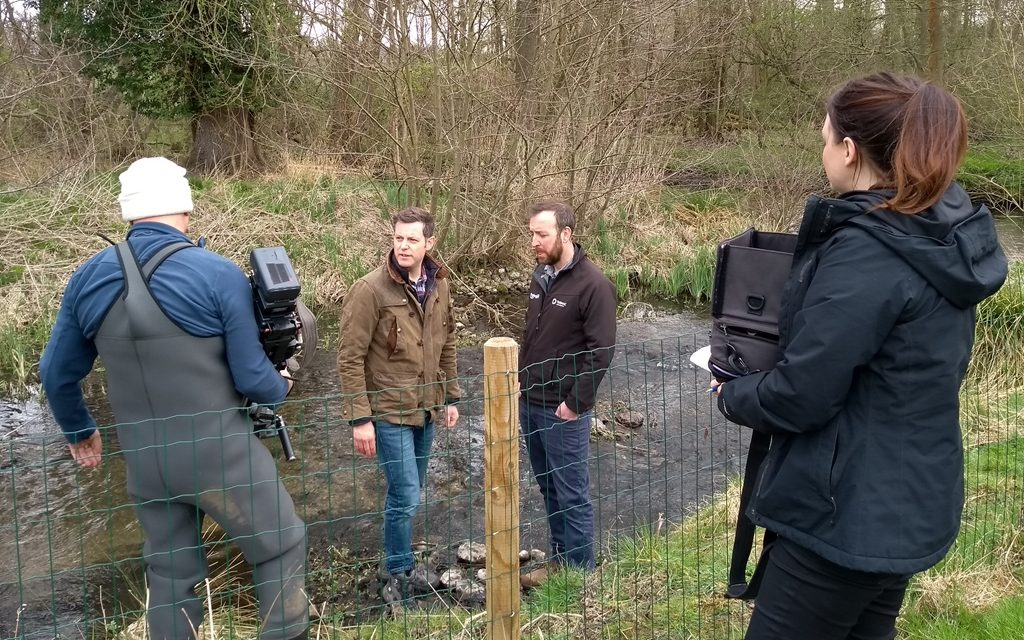 Tarmac's Panshanger Park featured on TV's Countryfile on Easter Sunday