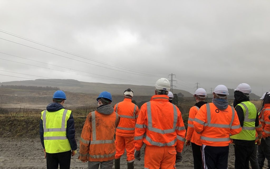 Tarmac to give young people in Glasgow a taste of the construction sector