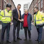 London's first recycled 'rubber road' is laid in Tower Hamlets