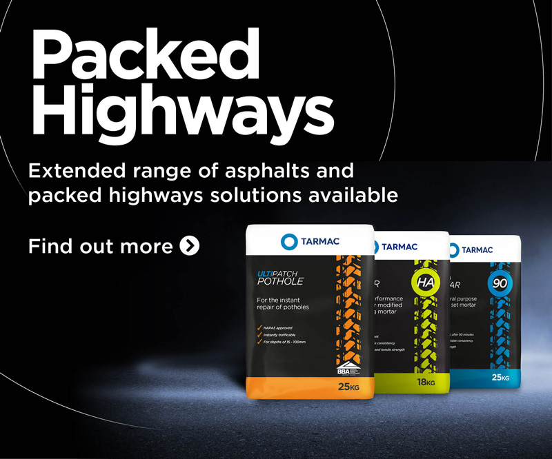 Link to Tarmac Packed Highways products