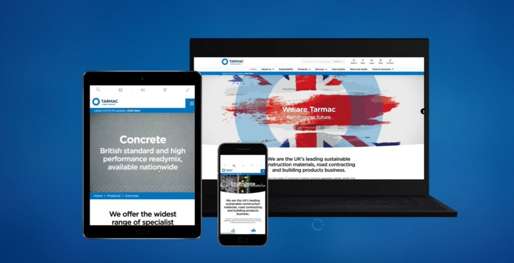 Tarmac launches new website to boost customer service excellence