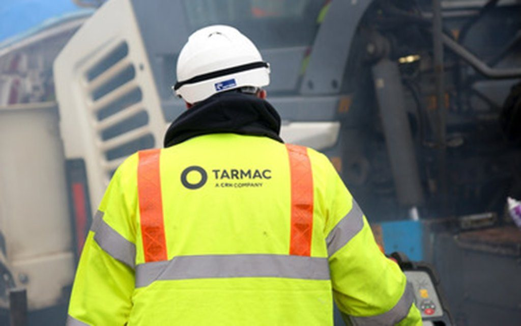 Tarmac backs calls for greater respect for highways workers