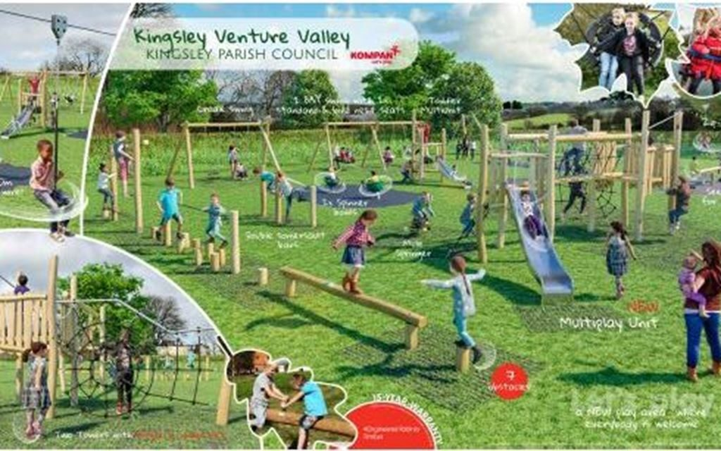 Tarmac Landfill Communities Fund supports new play area in Kingsley