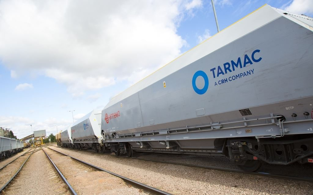 Tarmac on track with renewal of rail freight contracts