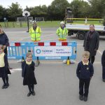 Tarmac provides local school with pedestrian barriers to support social distancing