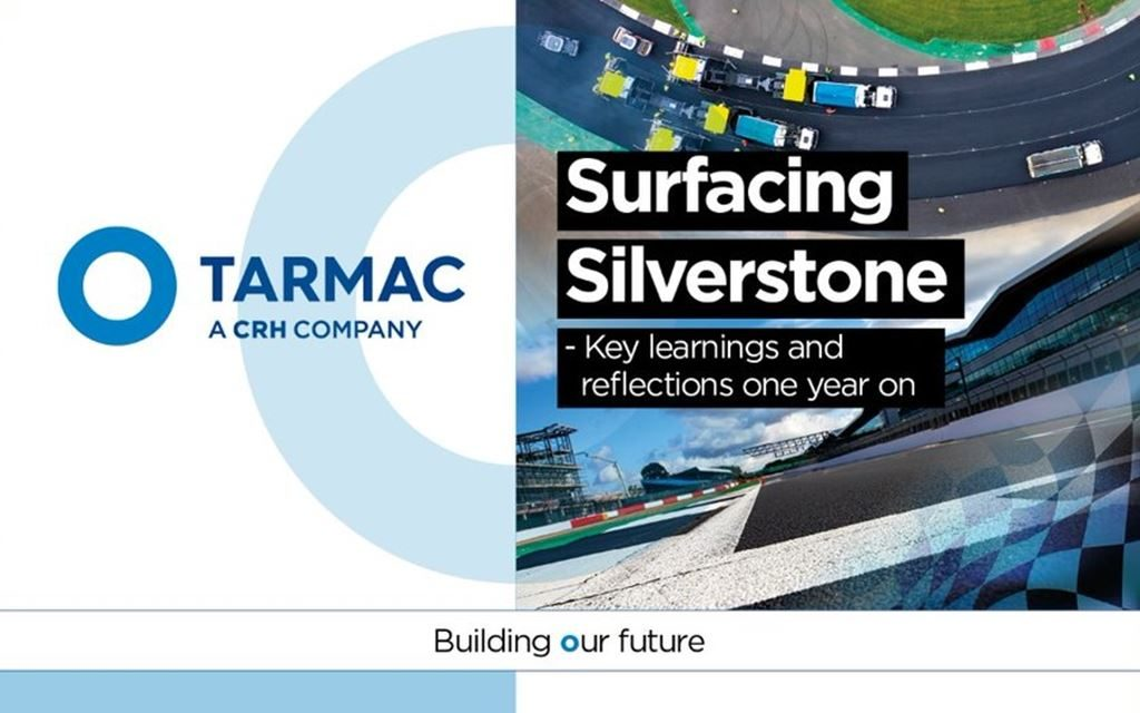 Sign up for Tarmac's 'Surfacing Silverstone' webinar