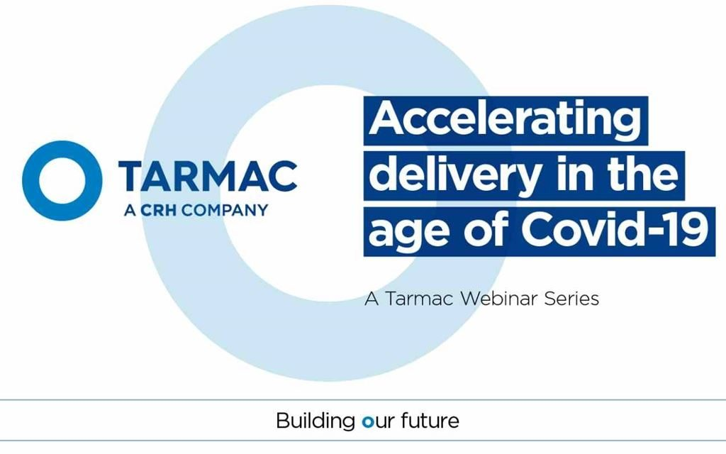 Sign up for Tarmac's next webinar: Streets ahead – managing local roads in the coronavirus era