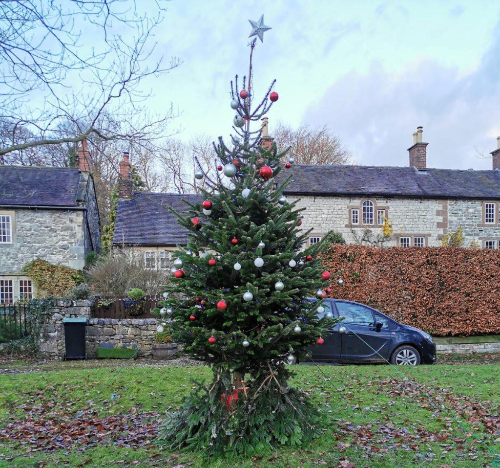 Tarmac wish Parwich Village a 'tree-mendous' Christmas