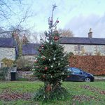 Tarmac wish Parwich Village a 'tree-mendous' Christmas