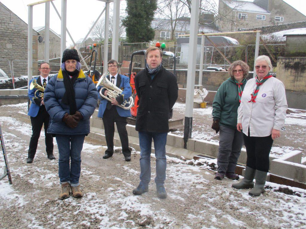 Tarmac's Landfill Communities Fund helps residents rebuild community hall