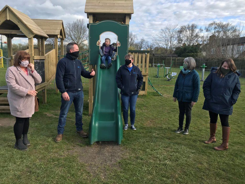 Tarmac grant helps transform Nottinghamshire play park