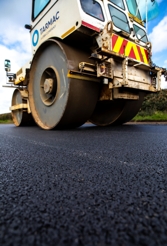 Tarmac secures leading industry accreditation for use of innovative rubber asphalt