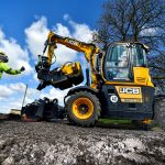 Tarmac demonstrates how to keep roads moving in Rutland with JCB's new pothole repair machine