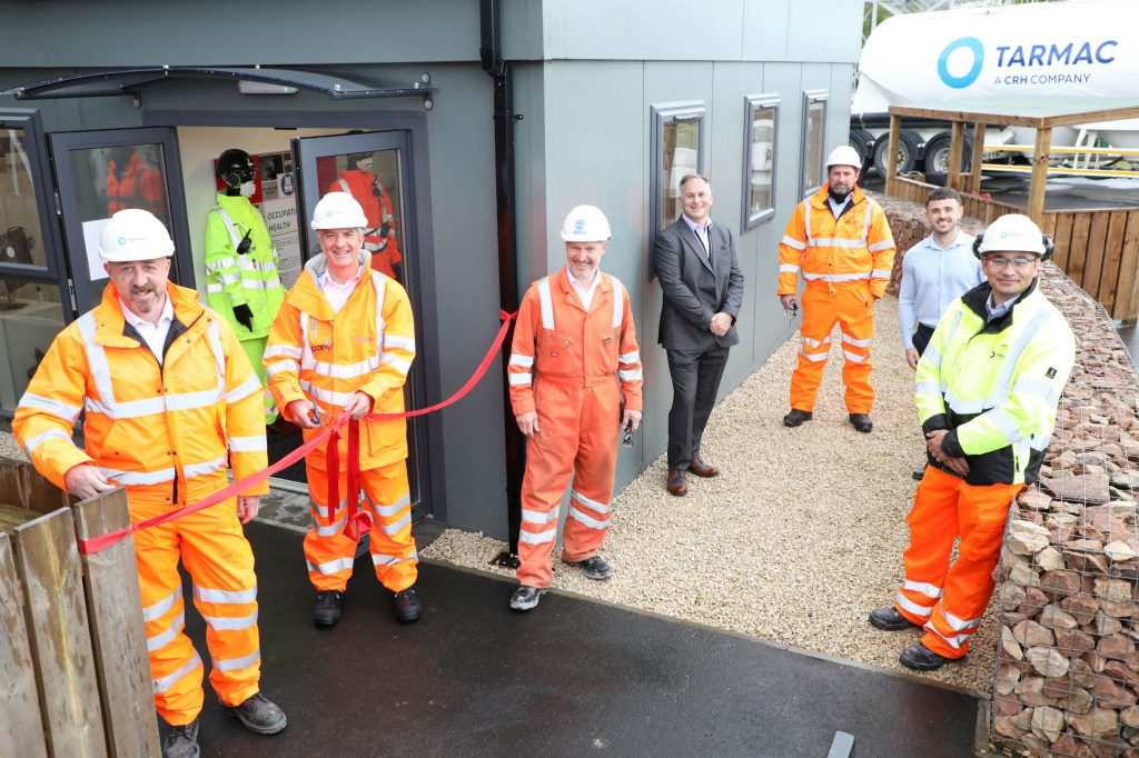 Tarmac opens new occupational health and wellbeing facility at its National Skills and Safety Park