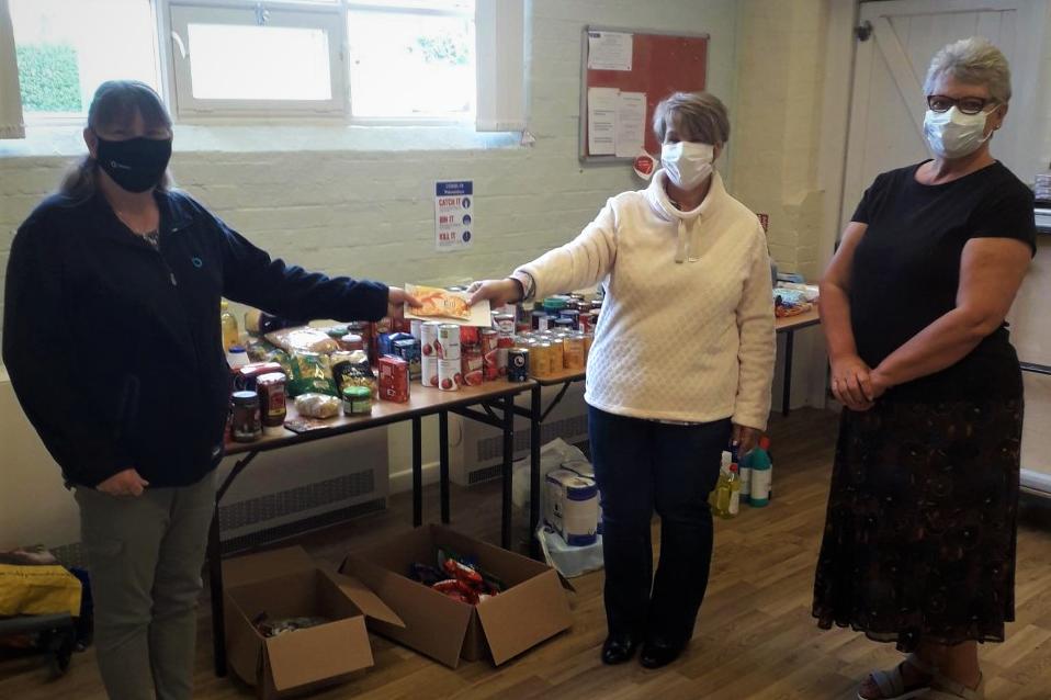 Tarmac support Nottinghamshire Foodbank