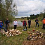Tarmac employees enjoy volunteering day with Cheshire Wildlife Trust
