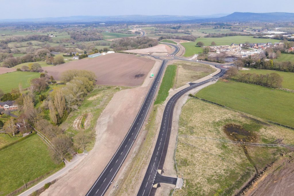 Tarmac supports opening of largest infrastructure project in Congleton, Cheshire