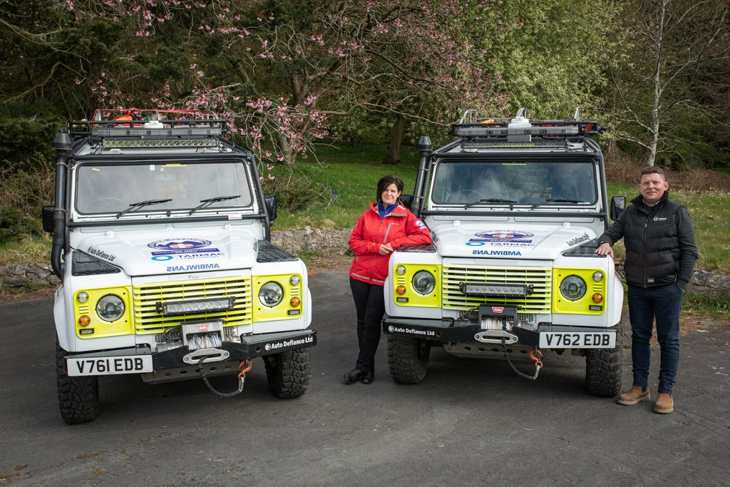 Tarmac continues partnership with North East Wales Search and Rescue