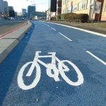 Bicycles, bitumen and blue asphalt: supporting Birmingham's cycling revolution
