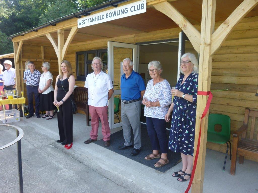 New clubhouse for West Tanfield Bowling Club thanks to Tarmac Landfill Communities Fund