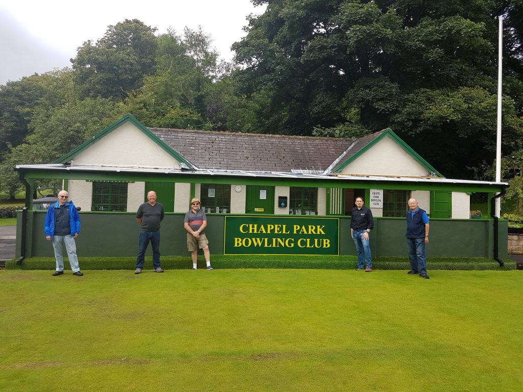 Derbyshire club bowled over after grant from Tarmac Landfill Communities Fund
